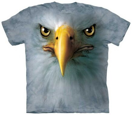 Eagle Face T-Shirt Nature and Animals