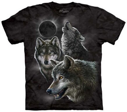 Eclipse Wolves Tshirts Nature and Animals