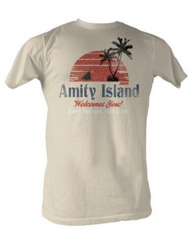 Jaws - Amity Island T-Shirt Movie