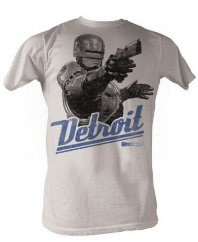 Robocop Detroit T-Shirt Movie