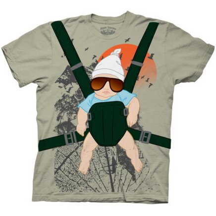 The Hangover Baby Bjorn Costume Tee T-Shirt Movie
