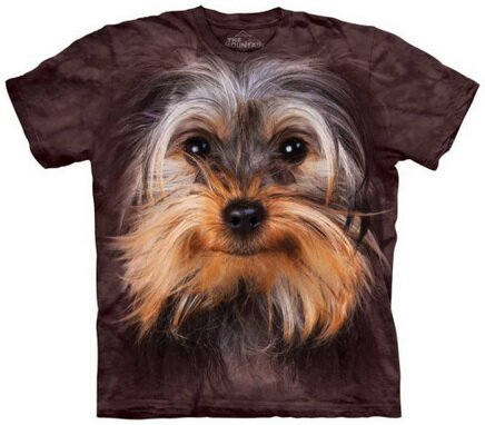 Yorkshire Terrier Face T-Shirt Nature and Animals