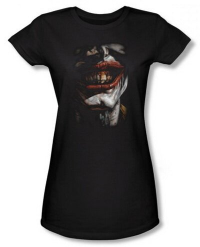 Batman - Smile Of Evil - Women's T-Shirts Comics