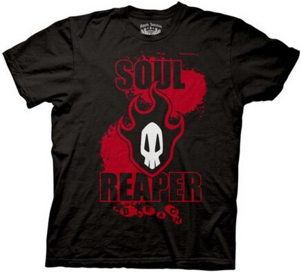 Bleach Soul Reaper T-Shirts Anime