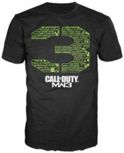 Call Of Duty 3 Logo T-Shirt Video Game