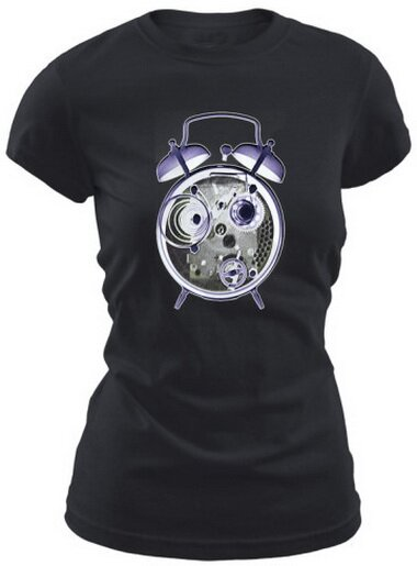 Cross-section Of Alarm Clock Women's T-Shirt Art