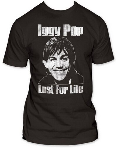 Iggy Pop Lust For Life TShirt Celebrity