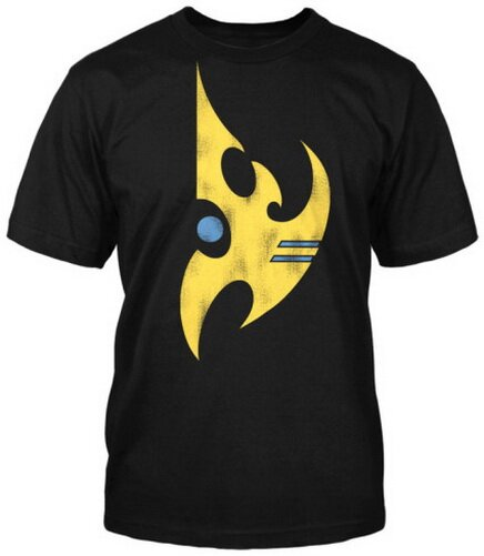 StarCraft II Protoss Vintage T-Shirt Video Game