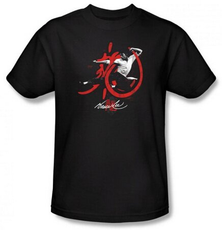 Bruce Lee High Flying tshirts Celebrities