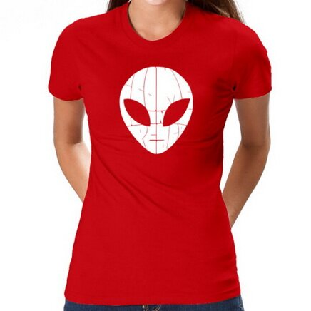 I Come In Peace Alien Tee Shirt Fantasy