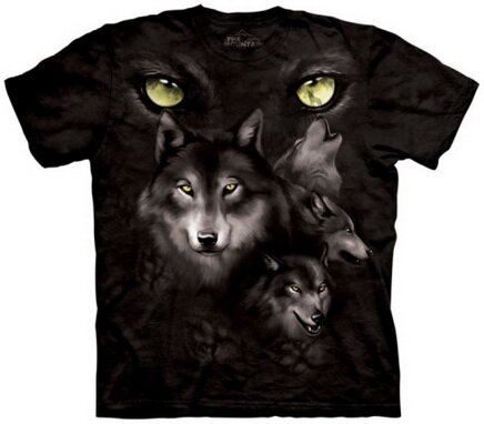 Moon Eyes Collage TShirt Nature and Animals