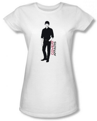 Covert Affairs Auggie Standing women's tee shirt