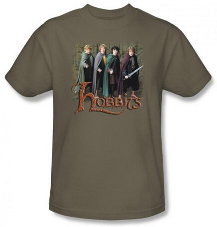 Lord Of The Rings Hobbits t-shirt
