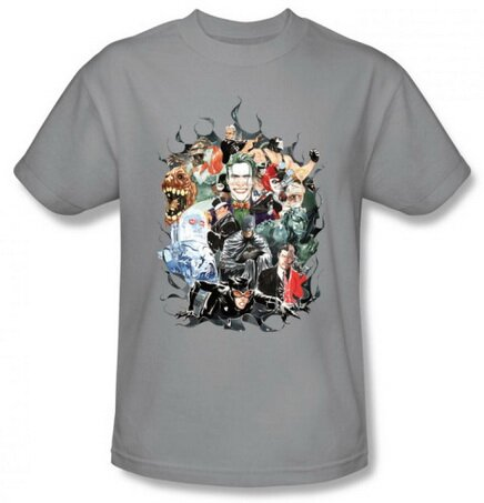 Batman Cape Of Villians t-shirt comics