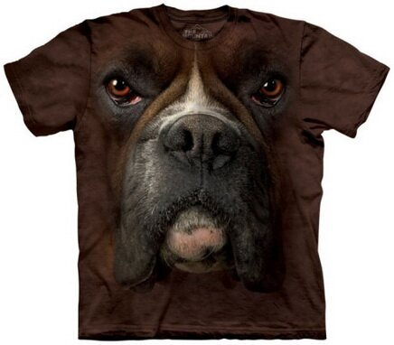 Boxer Face t-shirt nature and animals