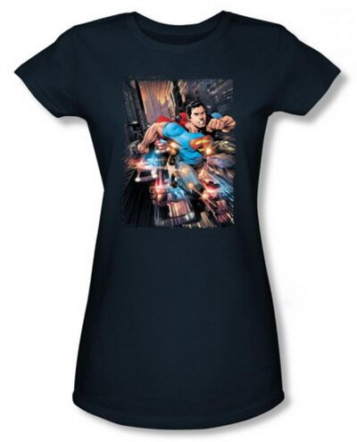 DC Action Comics women's t-shirt