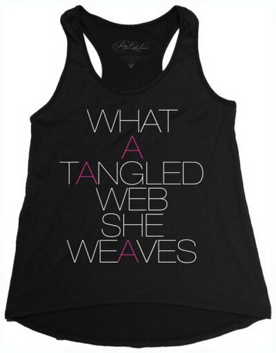 Pretty Little Liars Tangled Web tank top women's tees TV