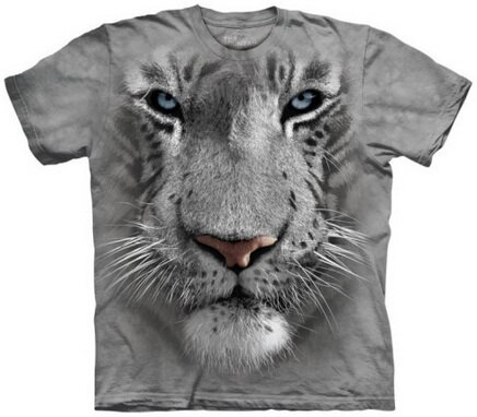 White Tiger Face t-shirt nature and animals