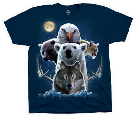 Animal Totem tshirt nature and animals