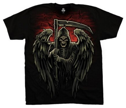 Reaper Chains t-shirt fantasy