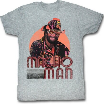 Macho Man Mackin' And Smackin' t-shirt celebrities