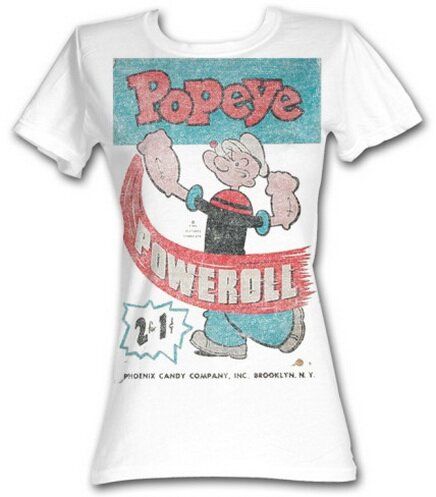 Popeye Powerroll women's t-shirts TV