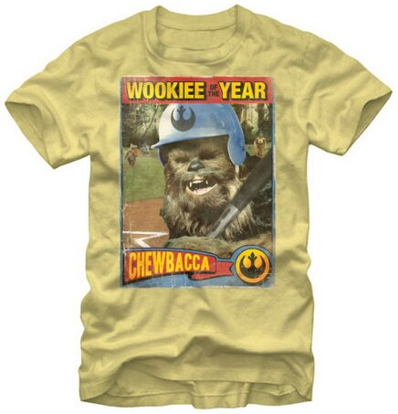 Star Wars Chewbacca Wookie Rookie slim fit t-shirt movie