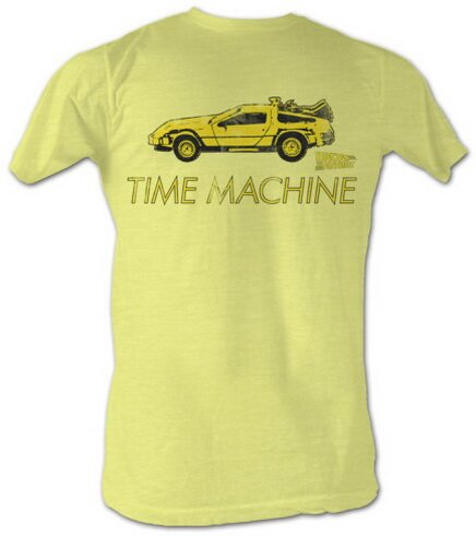 Back To The Future Delorean t-shirt movie