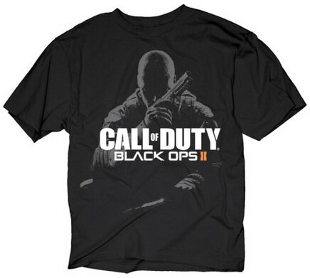 Call Of Duty Black Ops 2 Simple Lone Wolf t-shirt video game
