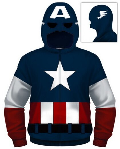 Captain America Cap A zip hoodie t-shirts comics