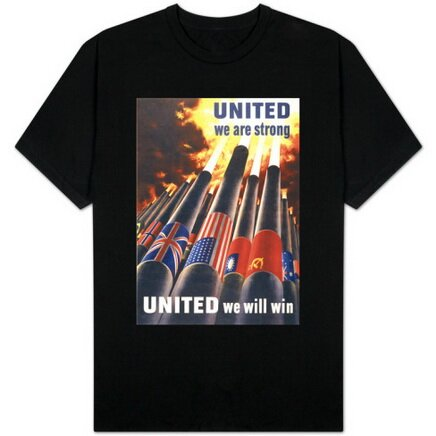 United We Are Strong, United We Will Win t-shirt art