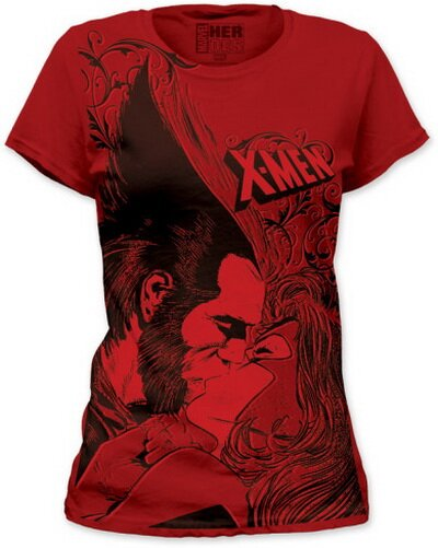 X-Men Kiss women's tshirts comics