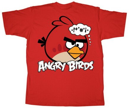 Angry Birds Bonkers t-shirts video game