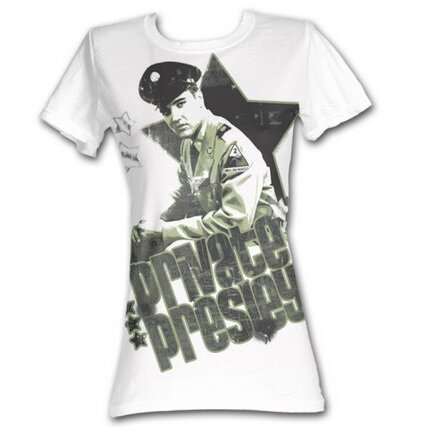Elvis Presley Private Presley women's tee shirt celebrity