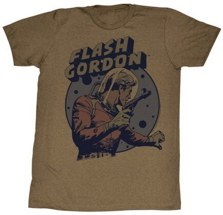 Flash Gordon Yes It Is t-shirt comics