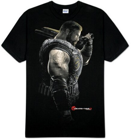 Gears Of War Dom Portrait t-shirt video game