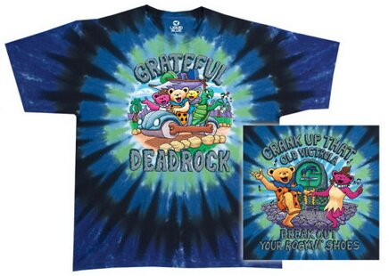 Grateful Dead Deadrock t-shirts music