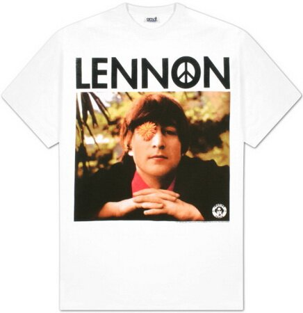 John Lennon Flower Eye t-shirt celebrities
