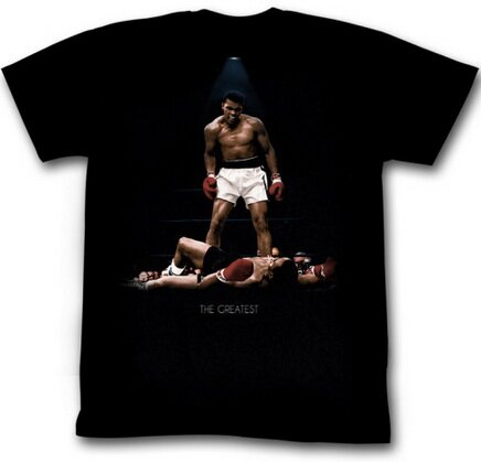 Muhammad Ali Over Again t-shirt celebrity