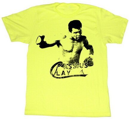 Muhammad Ali Right Hook t-shirt celebrities