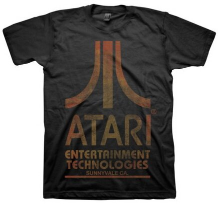 Atari Logo t-shirt video game