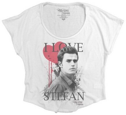 The Vampire Diaries I Love Stefan women's tshirts TV