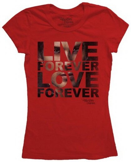 The Vampire Diaries Live Forever women's t-shirt TV