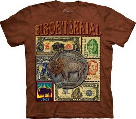 Bisontennial t-shirt world culture