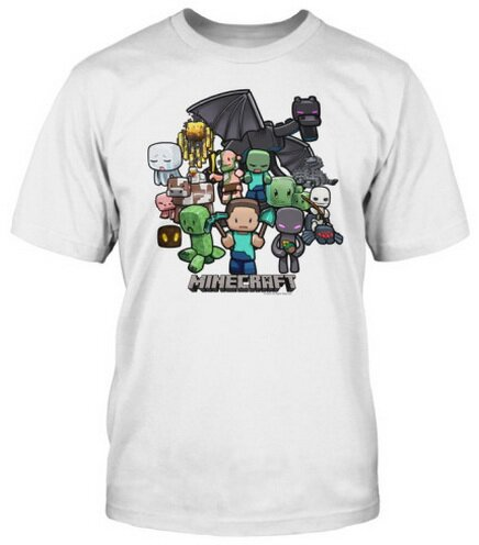 Minecraft Party t-shirt video game