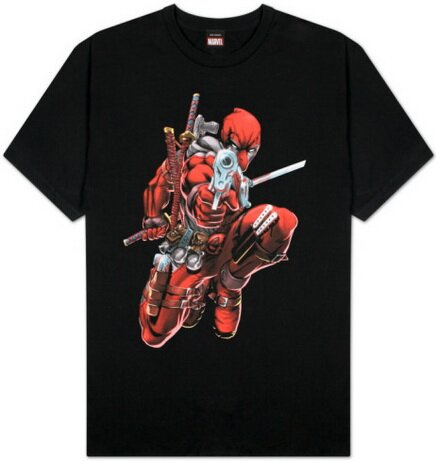 Deadpool Brace Yourself t-shirt comics