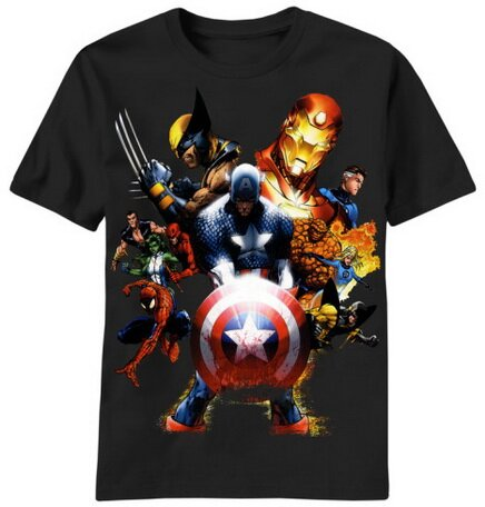 Marvel Soldiers Revenge t-shirt comics