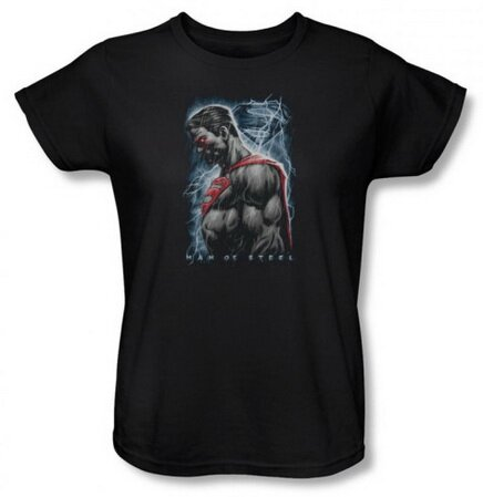 Man Of Steel - Steel Rain women's tshirt movie