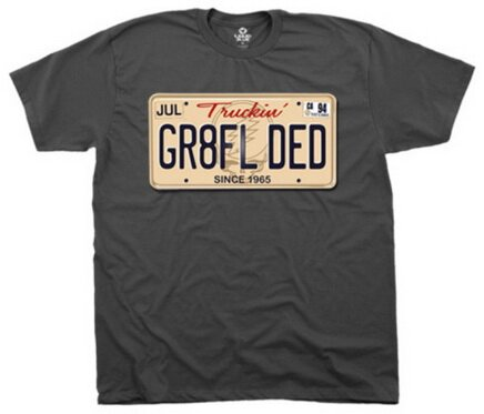 Grateful Dead GR8FL DED t-shirts music