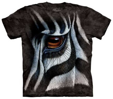 Zebra Eye T-Shirt Nature and Animals